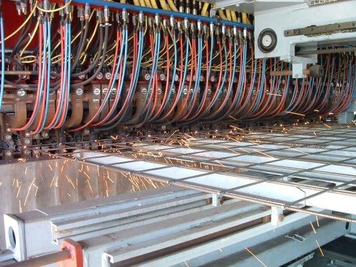 009 ייצור רשתות מרותכות